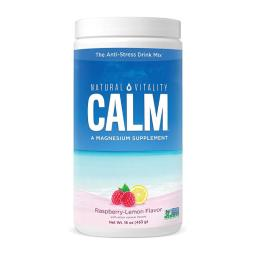 [Natural Vitality] Calm A 鎂補充 覆盆子檸檬味 16 oz