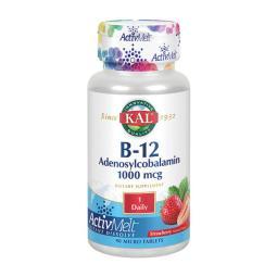 [KAL] B-12 腺苷鈷胺草莓味 1000 mcg 90 片
