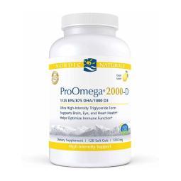 [Nordic Naturals] ProOmega 2000-D 1250 mg 120 粒軟膠囊