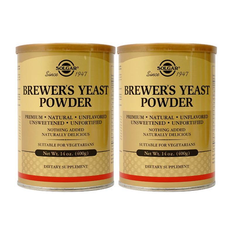 [Solgar] 2 入-啤酒酵母 400 克 14 oz