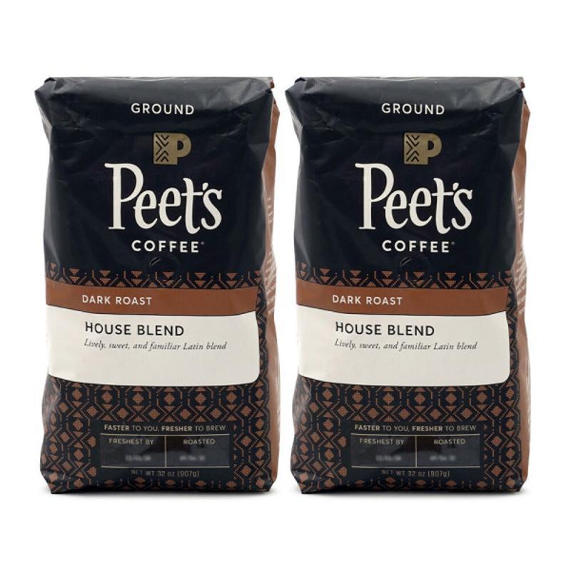 [Peet's Coffee] 深焙咖啡豆 美式咖啡 907 g