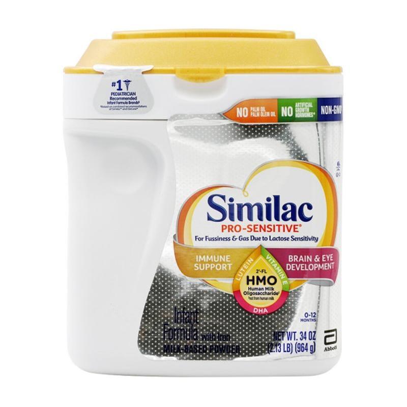 [Similac] Pro-Sensitive Infant 雅培美版HMO嬰兒配方奶粉一段(0-12月) 防過敏脹氣