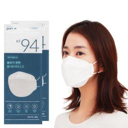 [KF94] 100片 PURION 口罩 50片 X 2包 韓國製造 4層過濾材質