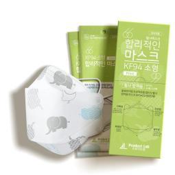 [KF94] 韓國製造 兒童口罩 100片