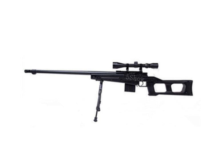 武SHOW WELL 4409 狙擊槍 手拉 空氣槍 (BB槍BB彈玩具槍長槍模型槍步槍卡賓槍馬槍瞄準鏡腳架