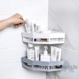 無痕轉角置物架 浴室置物架 無痕 置物架 三角置物架 浴室無痕置物架 收納架 浴室收納