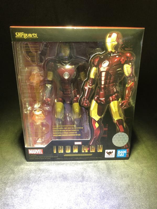 ★阿布吉玩具★ 現貨 全新 日版 SHF 鋼鐵人 MK3 Mark3 馬克3 Iron Man 復仇者聯盟 Bandai