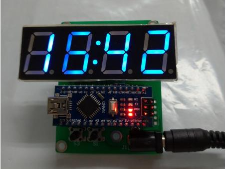 【3dg】arduino 數字鐘 DIY套件 現貨 【含稅開發票】