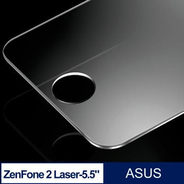 【PChome 24h購物】 ASUS  ZenFone 2 Laser 5.5吋 鋼化玻璃弧邊保護貼-2片裝 DYAH54-A9006QUUE