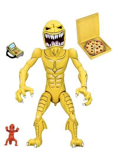查克收藏+預購 超取免定 NECA 忍者龜 TMNT動畫版 披薩怪 Pizza Monster 7吋可動人偶