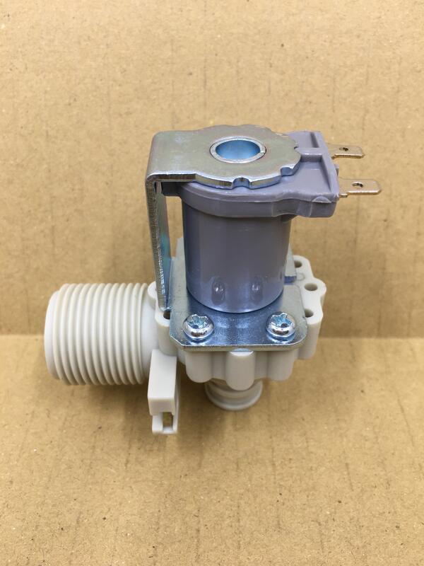 東元 LG 洗衣機 110V 一進一出90度 給水閥 電磁閥 進水閥 (插線端:小端子)