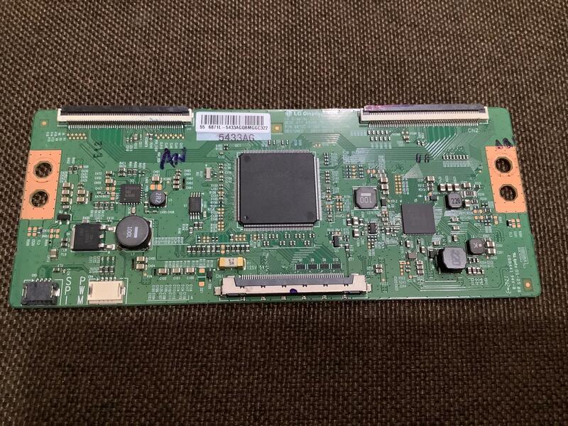 CHIMEI奇美TL-55R300邏輯板 良品 黑屏 畫面異常 畫面缺色 抖動 疊影 拖影 對策
