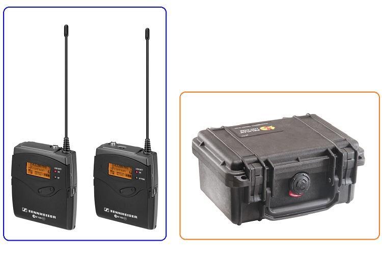 【環球影視】Sennheiser ew112p G3 無線麥克風組 超特惠贈 Pelican 1120 防震箱!最後2組