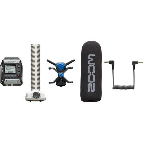 【環球影視】ZOOM F1-SP 專業現場錄音座+槍型麥克風音頭 公司貨 指向型 收音 單眼 數位相機 立體聲 雙軌