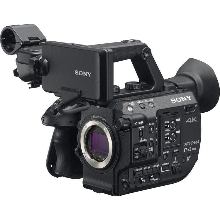 【環球影視】Sony PXW-FS5M2 業務級 4K 可交換鏡頭數位攝影機_公司貨