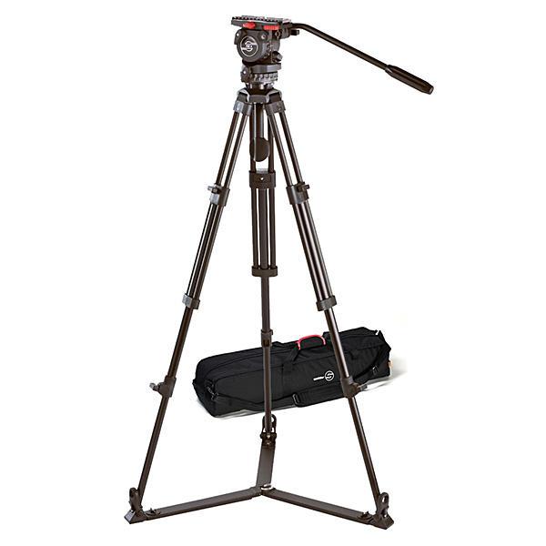 環球影視-Sachtler 0371 FSB 4/2D 專業錄三腳架 油壓雲台 德國電影、攝影機用專業腳架 專業首選