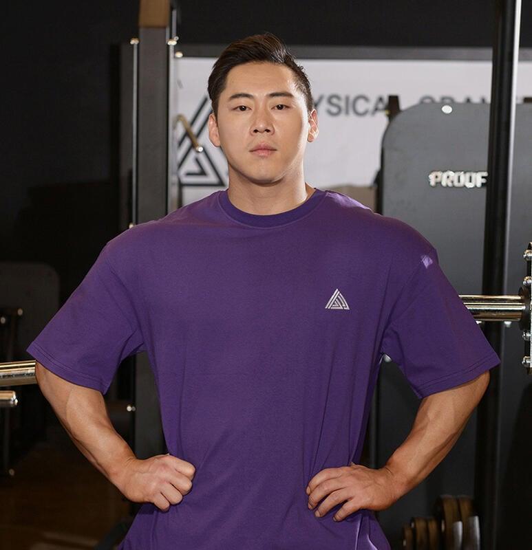 肌肉兄弟狗健身運動BF短袖T恤男寬松跑步半袖韓版中袖夏透氣訓練服