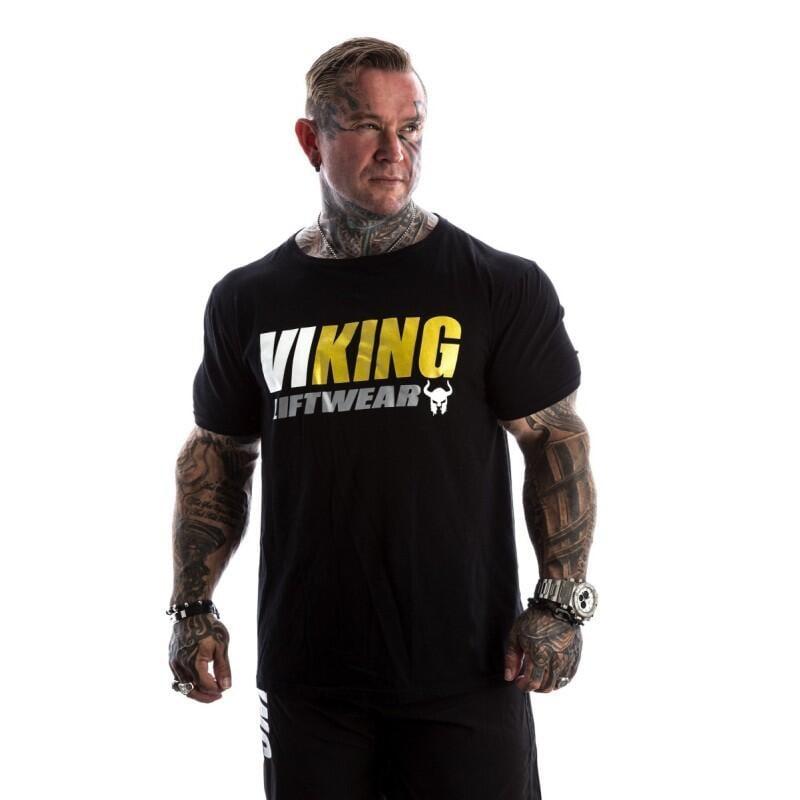 肌肉兄弟歐美健身BF短袖T恤男運動上衣斯巴達霸氣夏寬松擼鐵健身衣