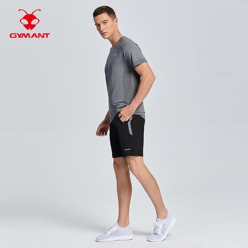 肌肉螞蟻運動上衣男夏新跑步速干衣BF短袖T恤寬松籃球訓練健身衣服