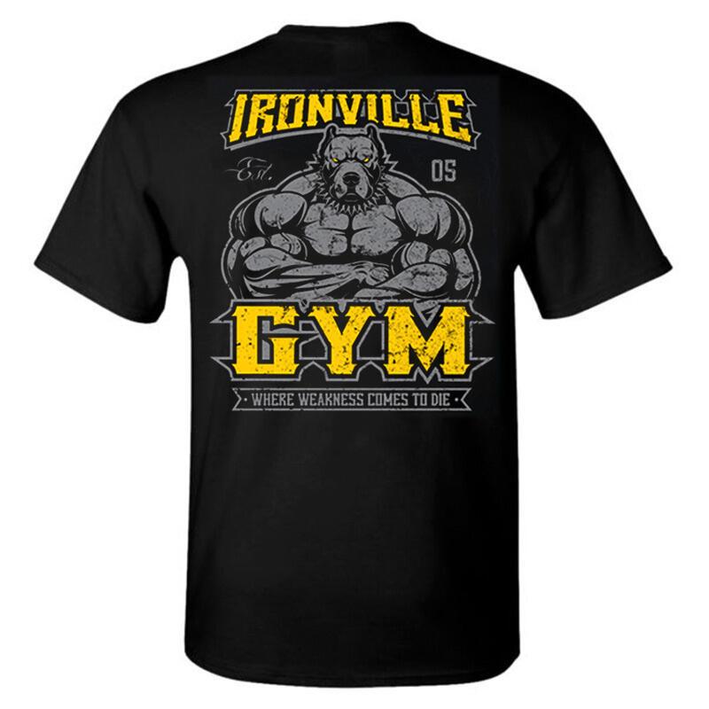MSCT肌肉隊長運動T恤男兄弟夏季健身房跑步訓練透氣BF短袖彈力上衣