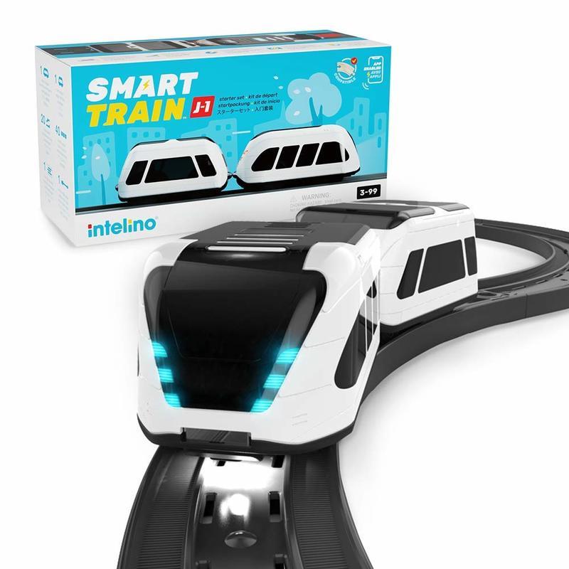 Intelino smart train 智能編程火車 免3C螢幕 3歲以上幼兒邏輯思考練習