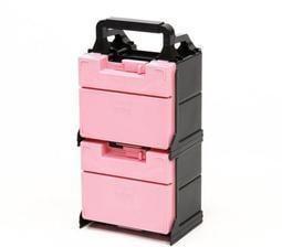 田宮老司機 TAMIYA 95547 拉麵箱 工具箱 限定版 粉紅色