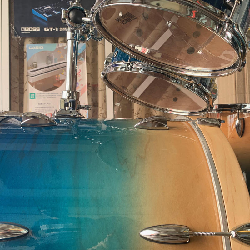 格律樂器 iSBN 603 F-603LS 湖水藍 爵士鼓組【不含銅鈸】