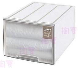 大詠 HOUSE 純白 65L 置物箱 TWW01 抽屜櫃/玩具箱/物品箱