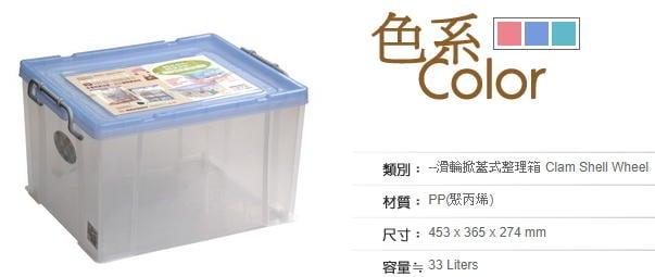 ((超低價免運費)) 聯府 KEYWAY 強固型掀蓋整理箱3入 K016 3色 收納箱/置物箱/整理櫃