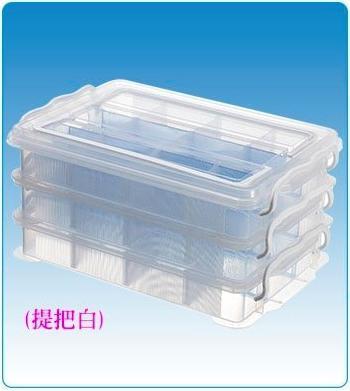 展瑩/林可5103收納箱 三層組整理箱置物盒/文具盒/整理盒/小物盒