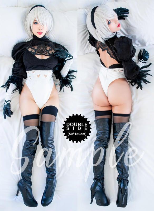 等身抱枕組 ㊄雨波 cosplay㊅ 2月新書 Nier 尼爾自動人型 2B 9S cosplay 寫真書 寫真集