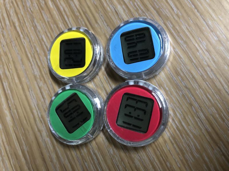 迷你防水機車時鐘 迷你機車電子錶 電子表 迷你數位錶 迷你數位時鐘