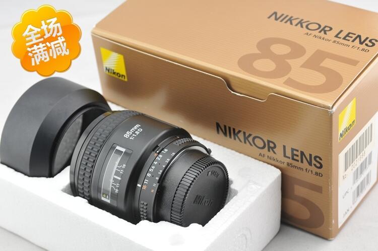 日行尼康AF 85mm 1.4D F1.4D\/85 1.8 1.8D自動定焦人像王二手鏡頭[獅子鏡頭]