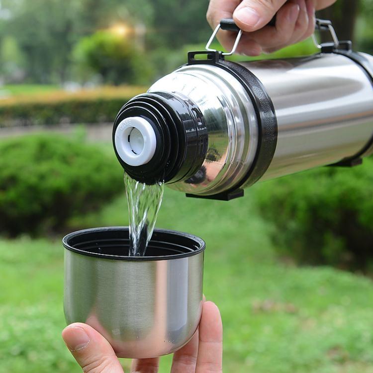 保溫杯大容量男女士暖水瓶不銹鋼戶外保溫壺便攜車載旅行水杯水壺 魔法世家