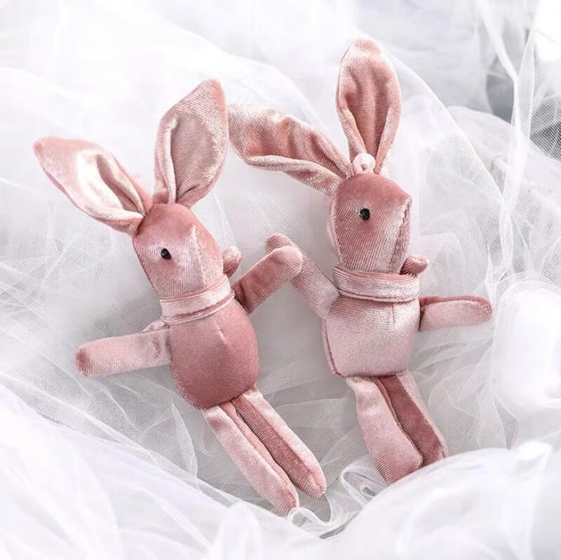 許願兔 小灰兔 粉紅兔 禮盒 禮物盒裝飾