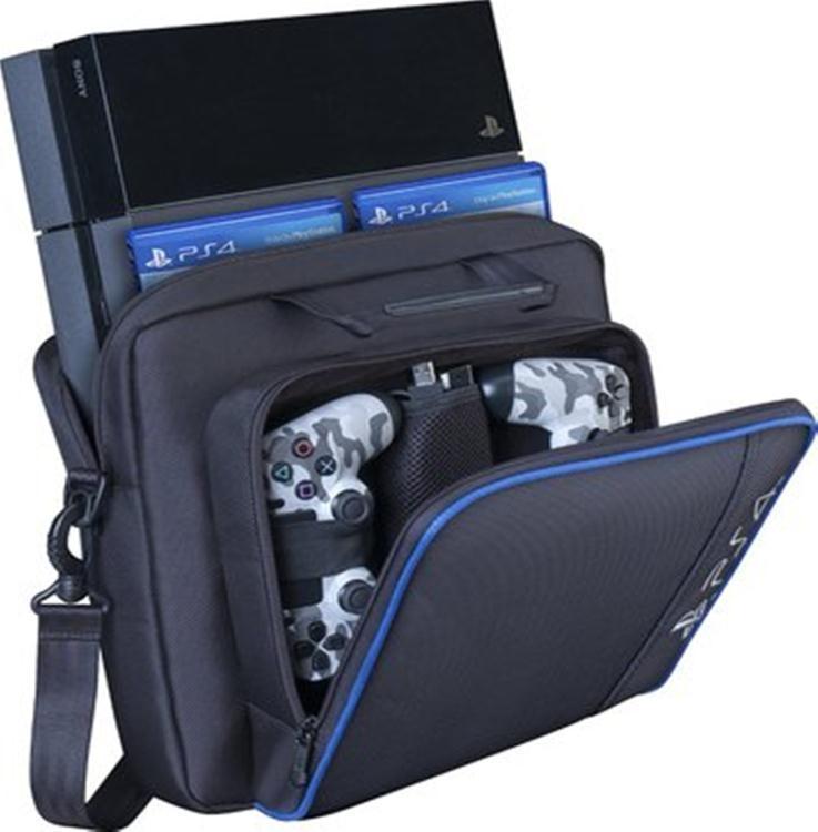 ps4收納包  SONY 索尼PS4 PRO主機包收納包SLIM游戲機包ps4ps3主機專用包-行運時代