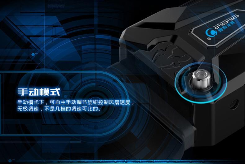 【特惠】筆電散熱器強抽風式筆記本降溫底座USB渦輪吸風扇17寸14—行運時代