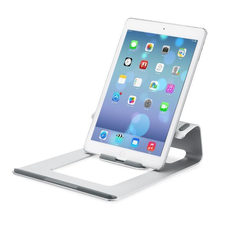【特惠】散熱座 筆電支架托桌面頸椎macbook蘋果電腦架子便攜鋁合金底座增高架 芭蕾朵朵—行運時代