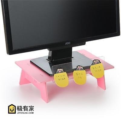 【特惠】防頸椎升高抬高螢幕便攜支架簡約護頸液晶電腦顯示器屏增高架 LI1863—行運時代