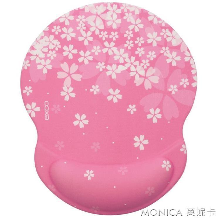 【特惠】粉色少女心滑鼠墊護腕可愛女生學生電腦滑鼠手腕托手腕墊—行運時代