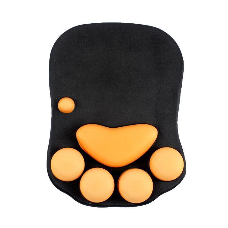 【特惠】貓爪動漫滑鼠墊護腕可愛手托大護手枕家用加厚電腦硅膠創意手腕墊Korea時尚記—行運時代