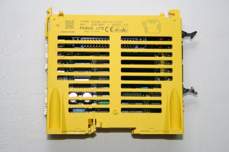JAPAN FANUC 日本 發那科 A03B-0815-C001 IO模塊