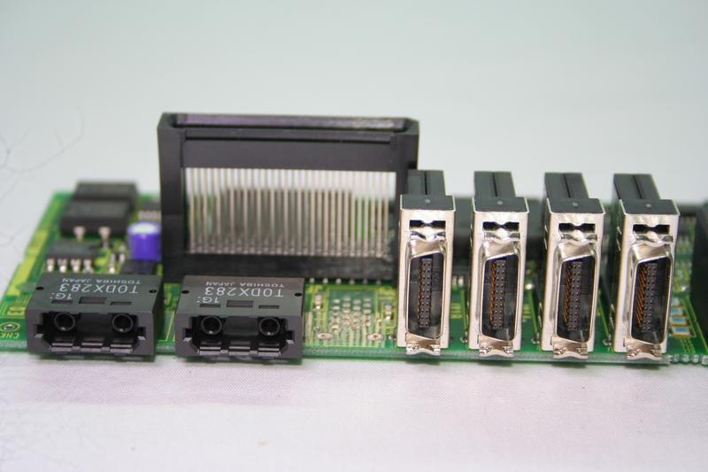 FANUC A20B-2100-0542  2100-0252 伺服模組FSSB模塊 A06B-6096-H106
