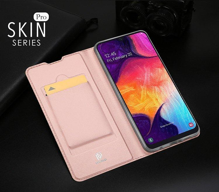 素面優質皮套 Samsung A20 插卡手機殼SM-A205G殼 掀蓋全包手機 三星Galaxy A20 掀蓋手機皮套