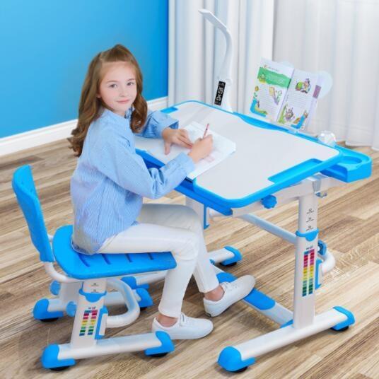 兒童學習桌可升降小學兒童書桌家用學習桌寫字桌課桌椅套裝