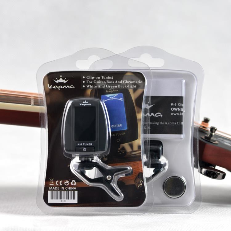 移調夾capo卡馬吉他調音器 民謠古典貝斯校音器 電子調音錶 背帶 變調夾