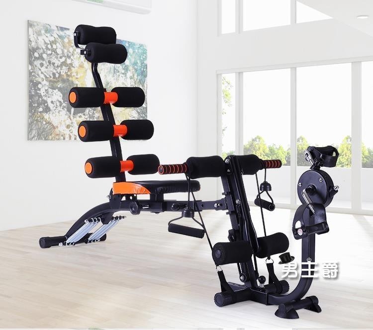 仰臥起坐多功能仰臥板懶人運動機收腹機自動仰臥起坐健身器材家用腹肌男女