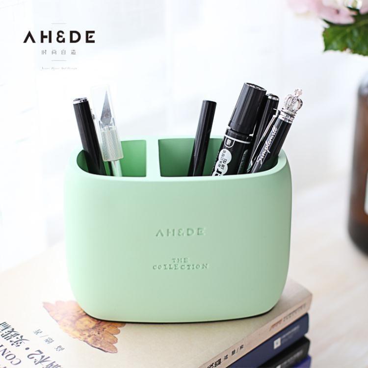簡約學生筆筒收納桌面擺件辦公室筆筒創意時尚韓國小清新  免運 可開發票 【易購生活館】