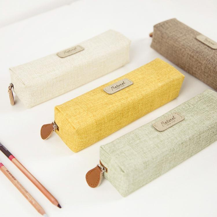 創意簡約鉛筆盒學生純色筆袋女韓國文具袋男女生文具盒  免運 可開發票 【易購生活館】