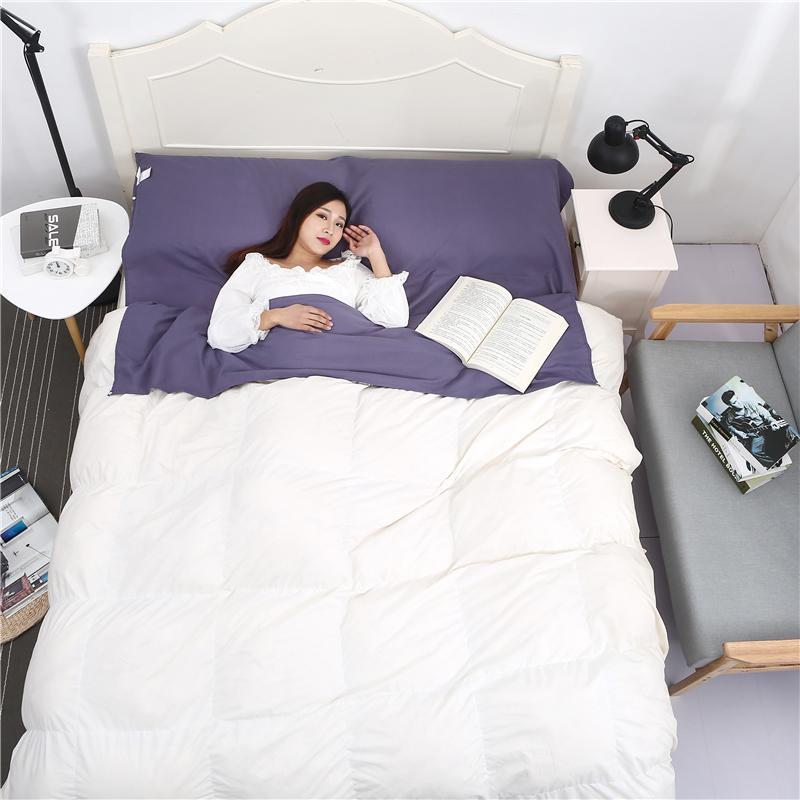 旅行隔臟睡袋成人室內超輕便攜單人沙發床單賓館酒店戶外旅游雙人睡袋  免運 可開發票 【易購生活館】